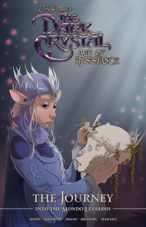 JIM HENSON THE DARK CRYSTAL AGE OF RESISTANCE THE JOURNEY INTO MONDO LEVIADIN HARDCOVER
