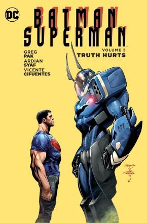 BATMAN SUPERMAN VOLUME 5 TRUTH HURTS GRAPHIC NOVEL