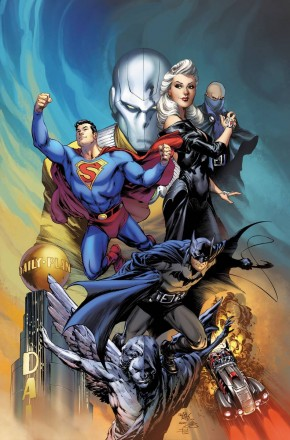 BATMAN SUPERMAN THE ARCHIVE OF WORLDS HARDCOVER