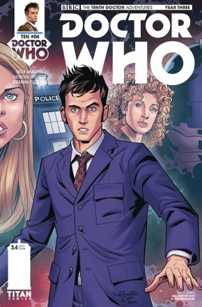 DOCTOR WHO 10TH YEAR THREE #4