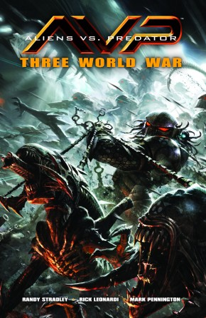 ALIENS VS PREDATOR THREE WORLD WAR GRAPHIC NOVEL