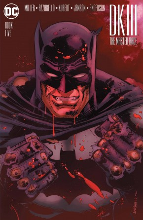 DARK KNIGHT III MASTER RACE #5 (OF 8) JANSON 1 IN 25 INCENTIVE VARIANT EDITION ED