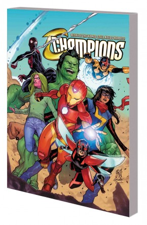 CHAMPIONS VOLUME 4 NORTHERN LIGHTS GRAPHIC NOVEL