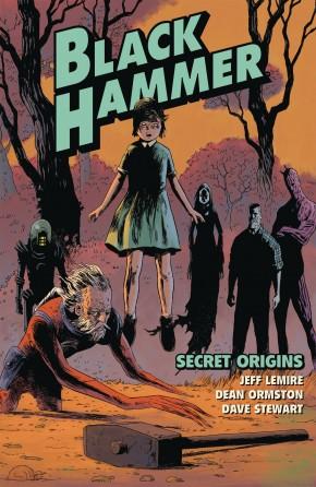 BLACK HAMMER VOLUME 1 SECRET ORIGINS GRAPHIC NOVEL