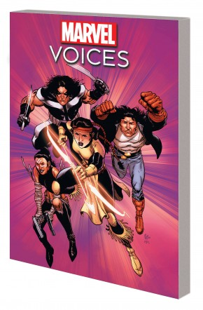 MARVELS VOICES HERITAGE GRAPHIC NOVEL