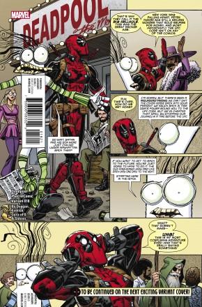 DEADPOOL VOLUME 5 #18 KOBLISH SECRET COMIC VARIANT COVER