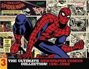 AMAZING SPIDER-MAN ULTIMATE NEWSPAPER COMICS COLLECTION VOLUME 3 1981-1982 HARDCOVER