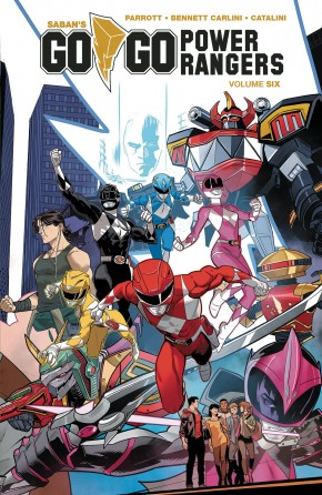 GO GO POWER RANGERS VOLUME 6 GRAPHIC NOVEL