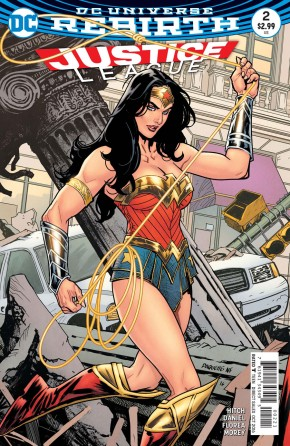 JUSTICE LEAGUE VOLUME 3 #2 VARIANT EDITION