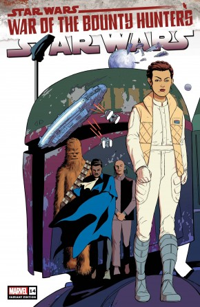 STAR WARS #14 (2020 SERIES) RODRIGUEZ 1 IN 25 INCENTIVE VARIANT