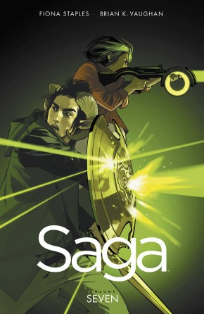 SAGA VOLUME 7 GRAPHIC NOVEL