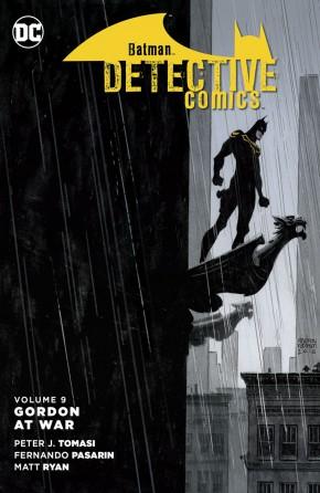 BATMAN DETECTIVE COMICS VOLUME 9 GORDON AT WAR HARDCOVER