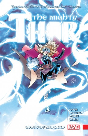 MIGHTY THOR VOLUME 2 LORDS OF MIDGARD HARDCOVER
