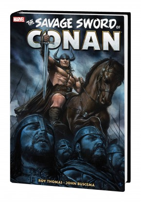 SAVAGE SWORD OF CONAN THE ORIGINAL MARVEL YEARS OMNIBUS VOLUME 4 HARDCOVER