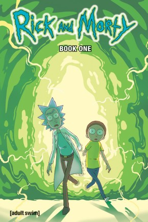 RICK AND MORTY BOOK 1 HARDCOVER