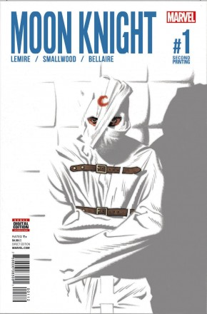MOON KNIGHT VOLUME 8 #1 SMALLWOOD 2ND PRINTING