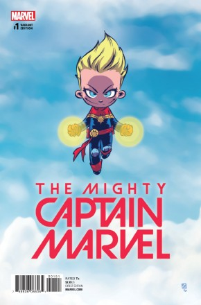 MIGHTY CAPTAIN MARVEL #1 YOUNG VARIANT COVER