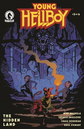 YOUNG HELLBOY THE HIDDEN LAND #3