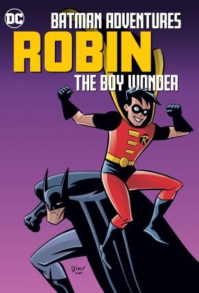 BATMAN ADVENTURES ROBIN THE BOY WONDER GRAPHIC NOVEL
