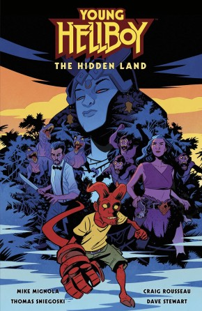 YOUNG HELLBOY THE HIDDEN LAND HARDCOVER