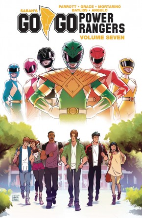 GO GO POWER RANGERS VOLUME 7 GRAPHIC NOVEL