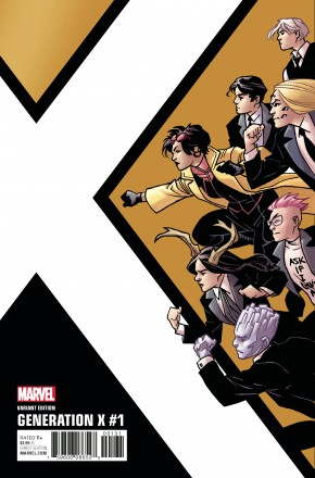 GENERATION X #1 KIRK CORNER BOX 1 IN 10 INCENTIVE VARIANT COVER