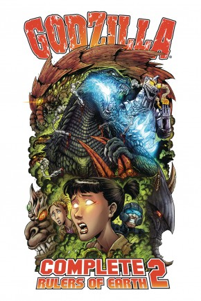 GODZILLA COMPLETE RULERS OF EARTH VOLUME 2 GRAPHIC NOVEL