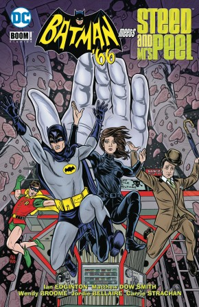 BATMAN 66 MEETS STEED AND MRS PEEL GRAPHIC NOVEL
