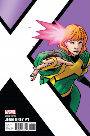 JEAN GREY #1 KIRK CORNER BOX 1 IN 10 INCENTIVE VARIANT COVER
