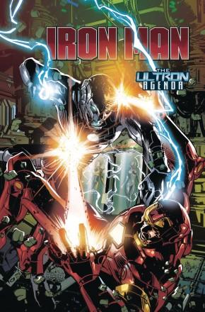 TONY STARK IRON MAN VOLUME 4 ULTRON AGENDA GRAPHIC NOVEL