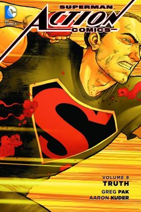 SUPERMAN ACTION COMICS VOLUME 8 TRUTH GRAPHIC NOVEL