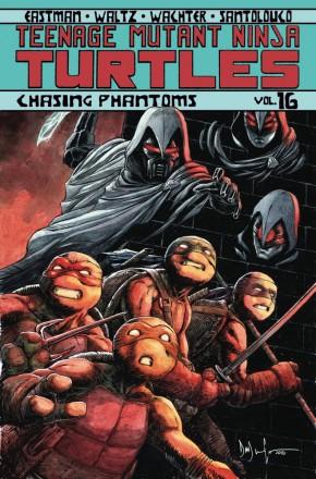 TEENAGE MUTANT NINJA TURTLES VOLUME 16 CHASING PHANTOMS GRAPHIC NOVEL