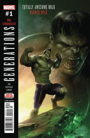GENERATIONS BANNER HULK AND TOTALLY AWESOME HULK #1 2ND PRINTING