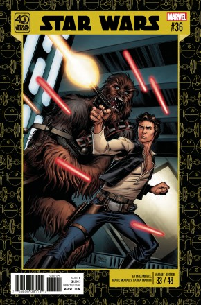 STAR WARS #36 (2015 SERIES) 40TH ANNIVERSARY VARIANT