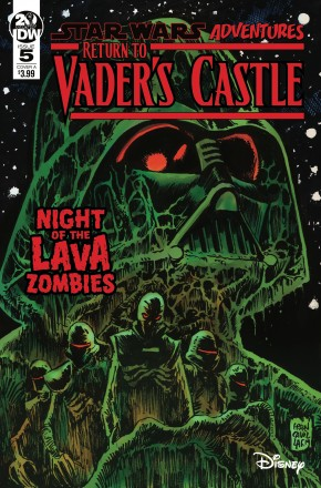 STAR WARS ADVENTURES RETURN TO VADERS CASTLE #5