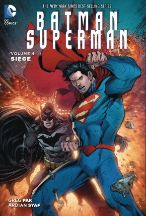 BATMAN SUPERMAN VOLUME 4 SIEGE GRAPHIC NOVEL
