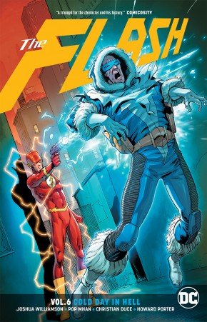 FLASH VOLUME 6 COLD DAY IN HELL GRAPHIC NOVEL