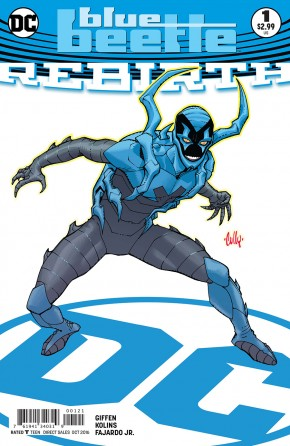 BLUE BEETLE REBIRTH #1 VARIANT EDITION