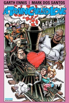 GARTH ENNIS A TRAIN CALLED LOVE GRAPHIC NOVEL