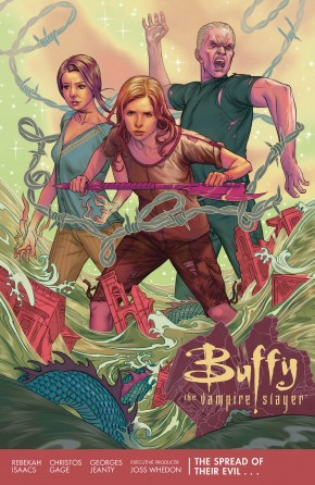 BUFFY THE VAMPIRE SLAYER SEASON 11 VOLUME 1 THE SPREAD OF THEIR EVIL GRAPHIC NOVEL