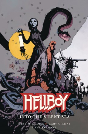HELLBOY INTO THE SILENT SEA HARDCOVER