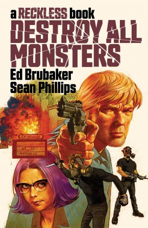 DESTROY ALL MONSTERS A RECKLESS BOOK HARDCOVER