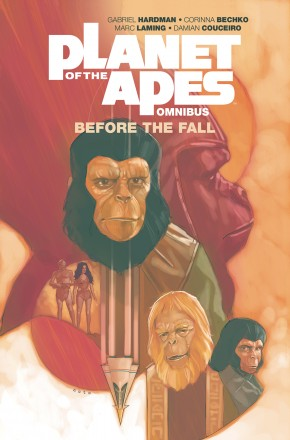 PLANET OF THE APES BEFORE THE FALL OMNIBUS GRAPHIC NOVEL