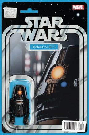 DARTH VADER #23 CHRISTOPHER ACTION FIGURE VARIANT COVER