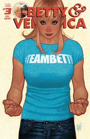 BETTY AND VERONICA BY ADAM HUGHES #3