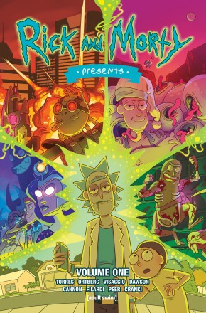 RICK AND MORTY PRESENTS VOLUME 1 GRAPHIC NOVEL