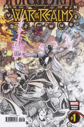 WAR OF THE REALMS #1 ART ADAMS PREMIERE VARIANT
