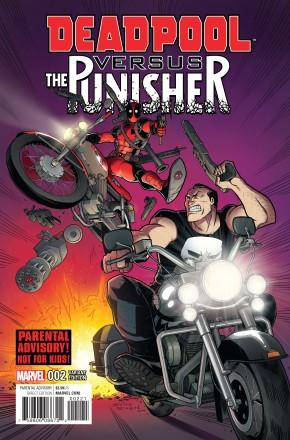 DEADPOOL VS PUNISHER #2 ESPIN VARIANT COVER
