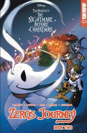 DISNEY MANGA NIGHTMARE CHRISTMAS ZEROS JOURNEY VOLUME 2 GRAPHIC NOVEL