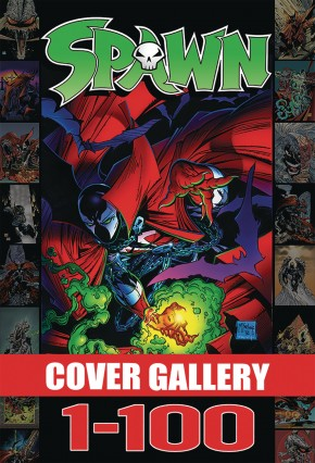 SPAWN COVER GALLERY VOLUME 1 HARDCOVER